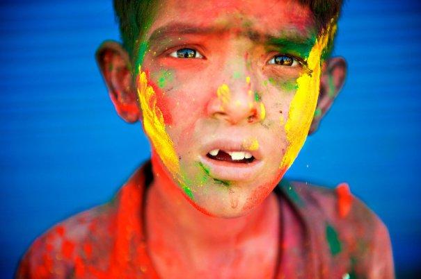 Новости в фотографиях - Фестиваль красок Холи - №11
