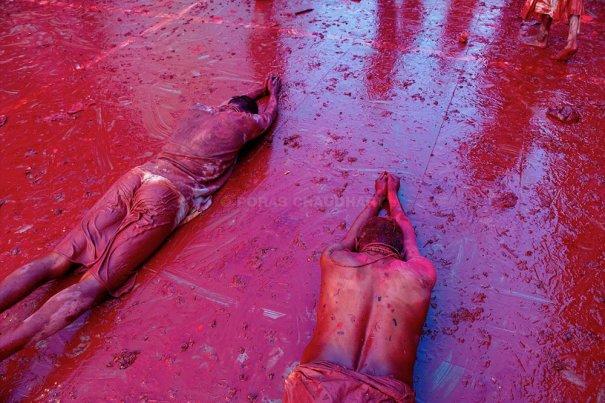 Новости в фотографиях - Фестиваль красок Холи - №18