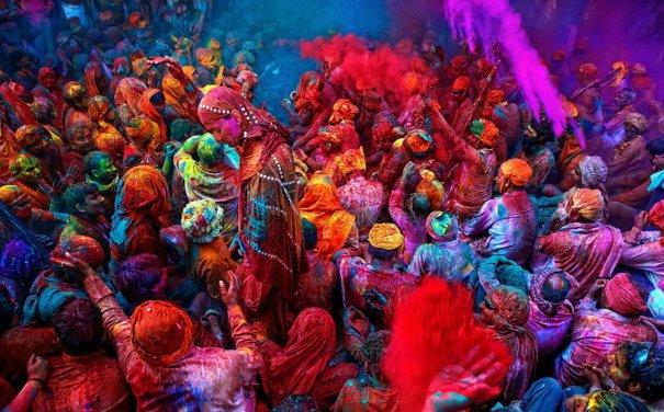 Новости в фотографиях - Фестиваль красок Холи - №19