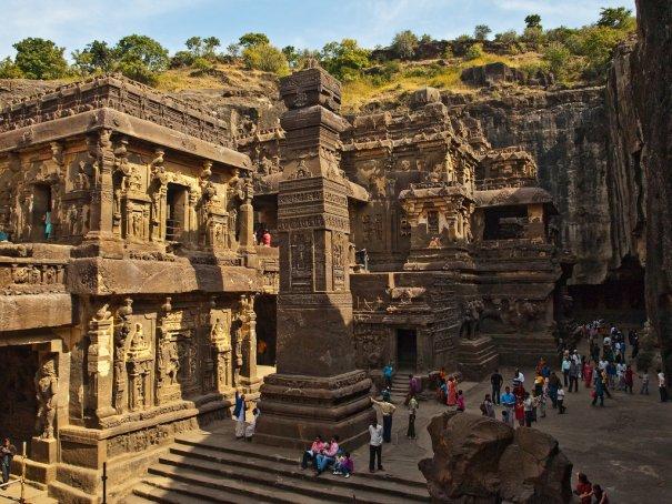 Необычные фото - Уникальный храм Кайласанатха - №1