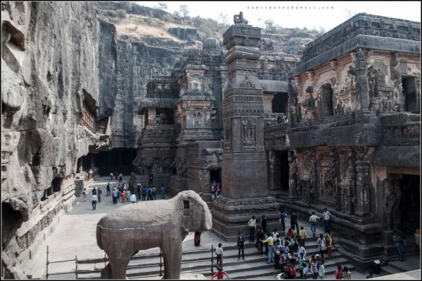 Необычные фото - Уникальный храм Кайласанатха - №4