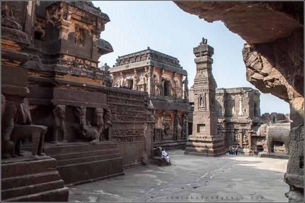 Необычные фото - Уникальный храм Кайласанатха - №5
