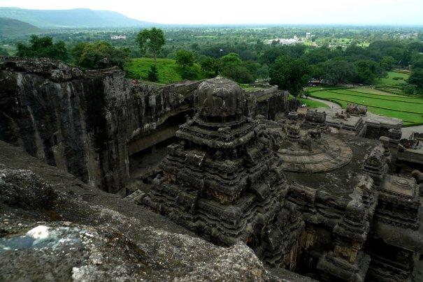 Необычные фото - Уникальный храм Кайласанатха - №7