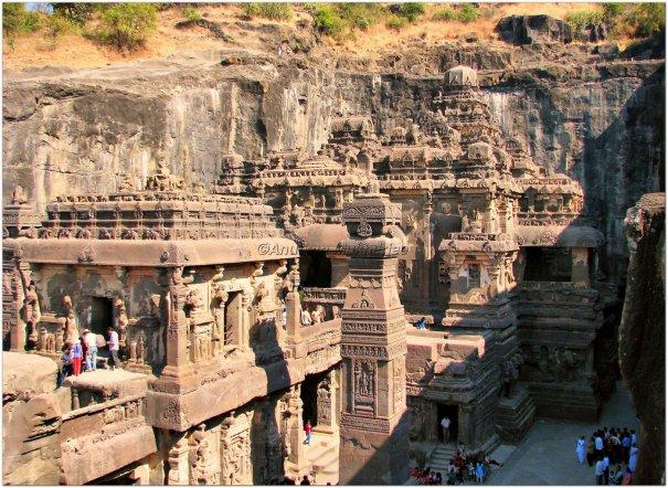 Необычные фото - Уникальный храм Кайласанатха - №8