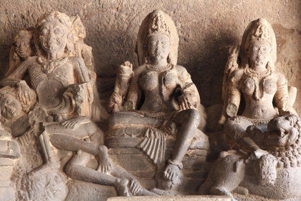 Необычные фото - Уникальный храм Кайласанатха - №10
