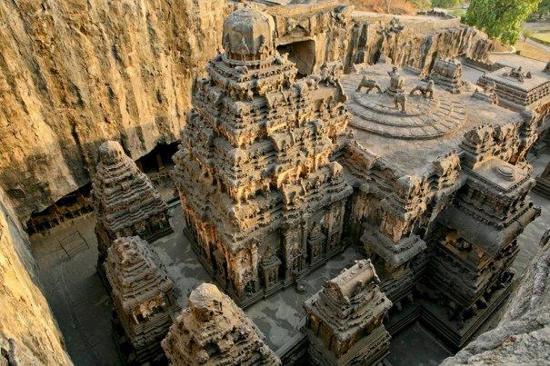 Необычные фото - Уникальный храм Кайласанатха - №11