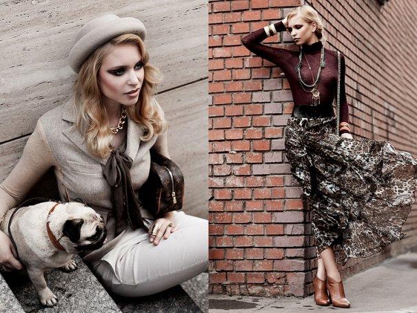 Жанна Ромашка. Модные фото прекрасных людей - №3