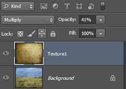 Урок Фотошопа. Как совместить текстуры с изображением - №6