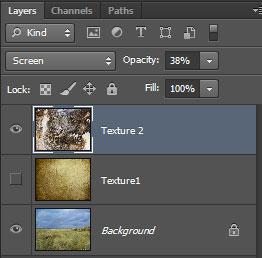 Урок Фотошопа. Как совместить текстуры с изображением - №12
