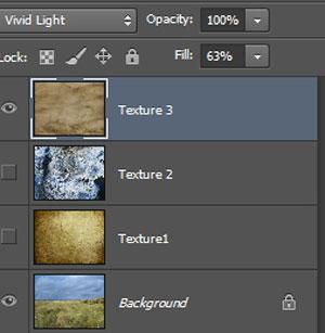 Урок Фотошопа. Как совместить текстуры с изображением - №16