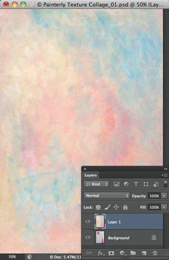 Урок Фотошопа. Цветок и живописная текстура - №4