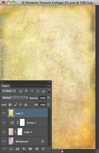 Урок Фотошопа. Цветок и живописная текстура - №10