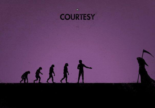 Пародия на эволюцию человека в картинках - №5