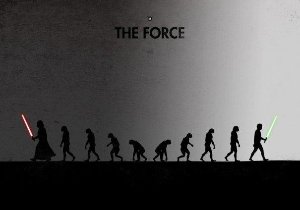Пародия на эволюцию человека в картинках - №6