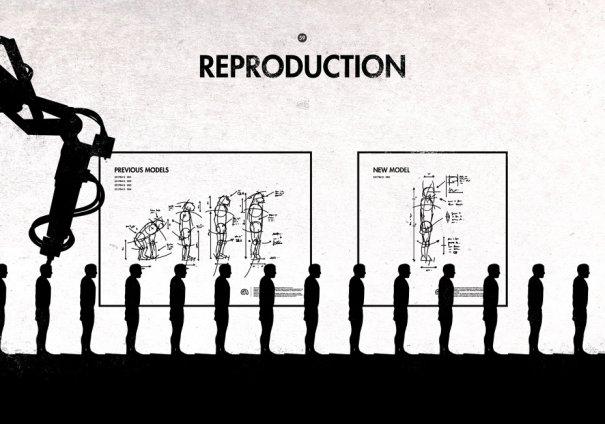 Пародия на эволюцию человека в картинках - №8