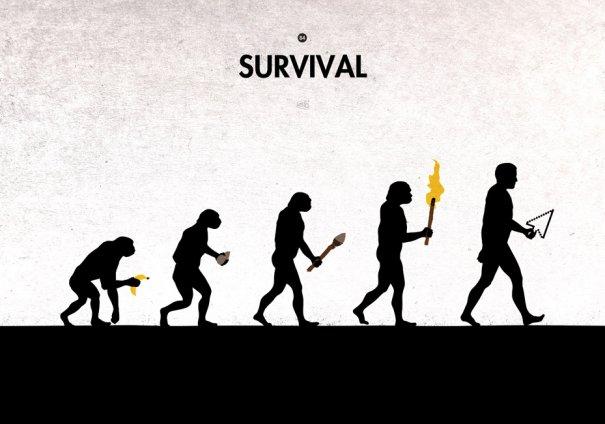 Пародия на эволюцию человека в картинках - №10