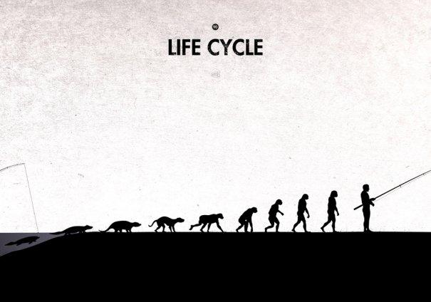 Пародия на эволюцию человека в картинках - №11