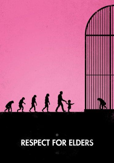 Пародия на эволюцию человека в картинках - №14