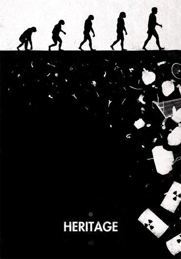 Пародия на эволюцию человека в картинках - №16