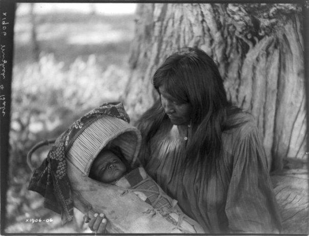 Эдвард Кертис, фотографирует индейцев. - №2