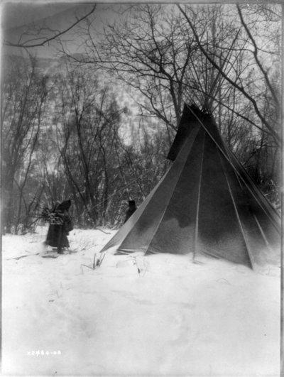 Эдвард Кертис, фотографирует индейцев. - №4