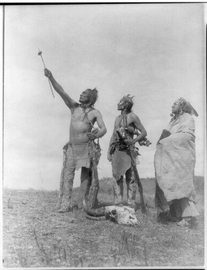 Эдвард Кертис, фотографирует индейцев. - №5