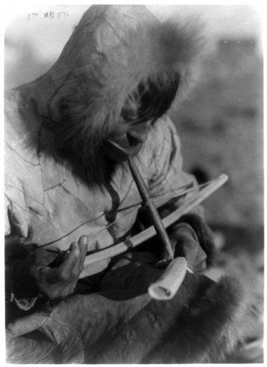 Эдвард Кертис, фотографирует индейцев. - №6