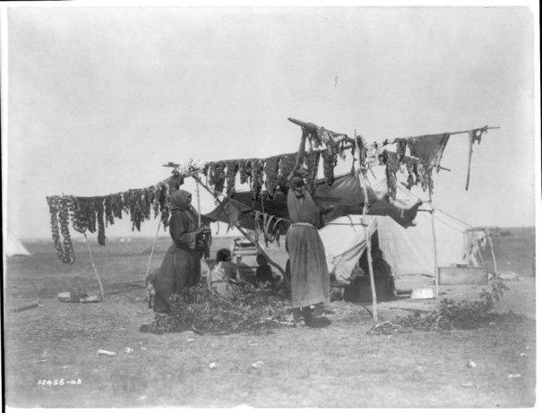 Эдвард Кертис, фотографирует индейцев. - №7