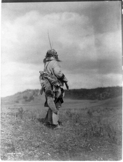 Эдвард Кертис, фотографирует индейцев. - №12