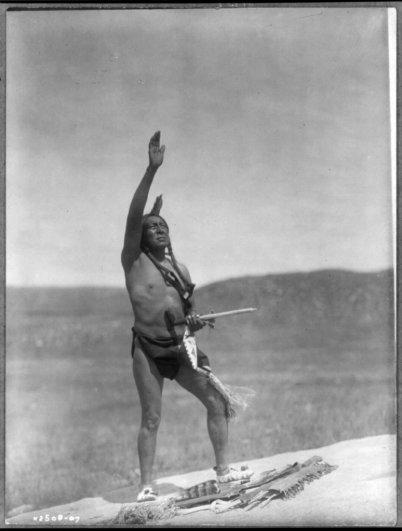 Эдвард Кертис, фотографирует индейцев. - №15
