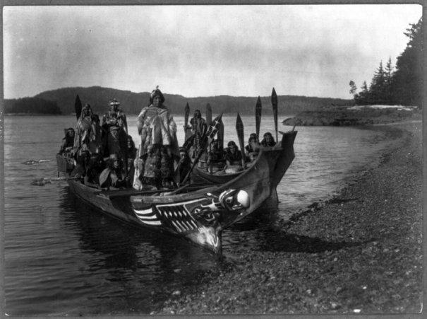 Эдвард Кертис, фотографирует индейцев. - №16