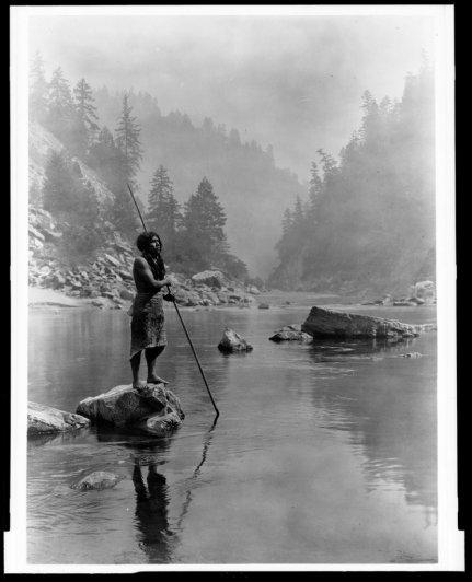 Эдвард Кертис, фотографирует индейцев. - №17