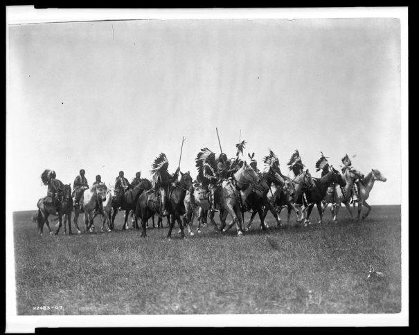 Эдвард Кертис, фотографирует индейцев. - №18