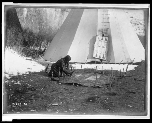 Эдвард Кертис, фотографирует индейцев. - №19