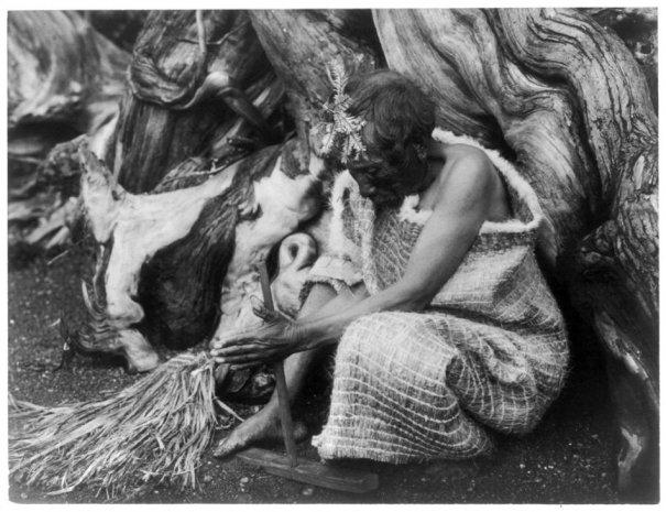 Эдвард Кертис, фотографирует индейцев. - №20
