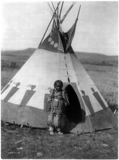Эдвард Кертис, фотографирует индейцев. - №21