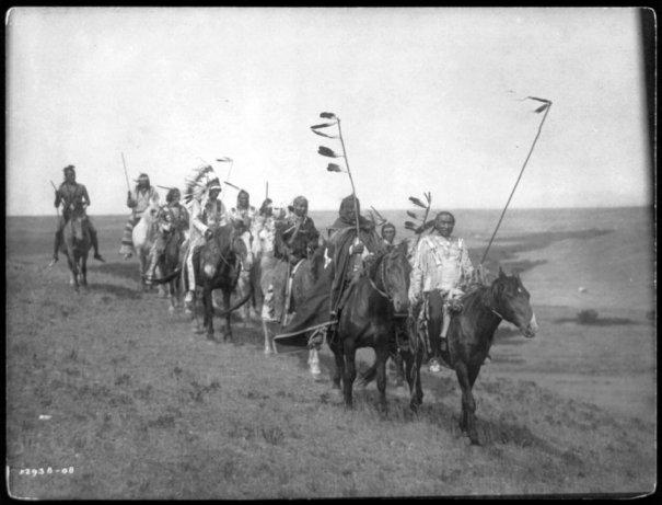 Эдвард Кертис, фотографирует индейцев. - №22