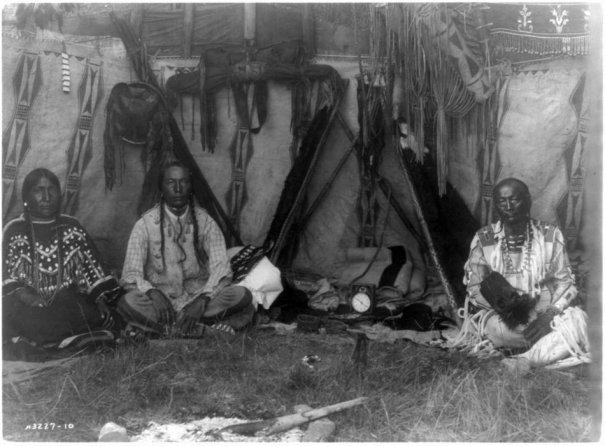 Эдвард Кертис, фотографирует индейцев. - №23