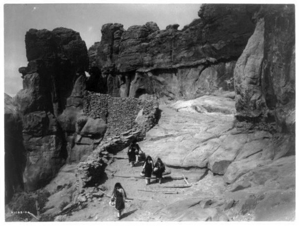 Эдвард Кертис, фотографирует индейцев. - №24