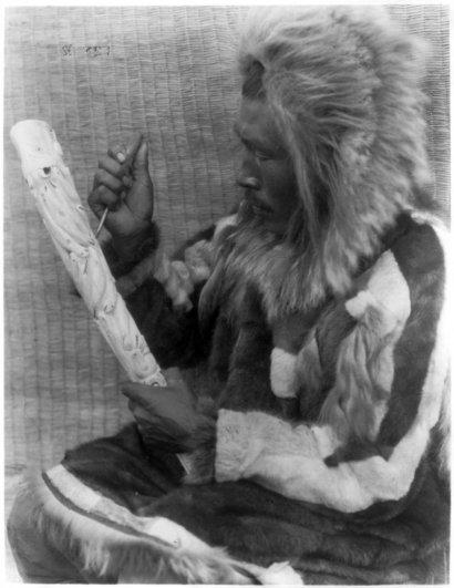 Эдвард Кертис, фотографирует индейцев. - №25