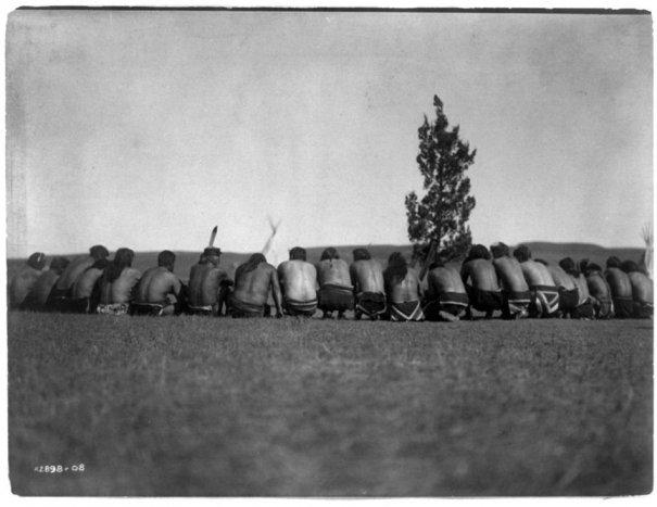 Эдвард Кертис, фотографирует индейцев. - №26