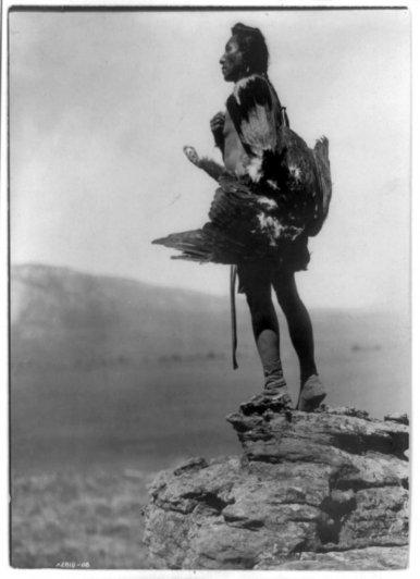Эдвард Кертис, фотографирует индейцев. - №28