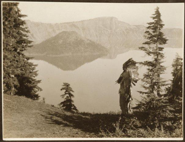 Эдвард Кертис, фотографирует индейцев. - №29