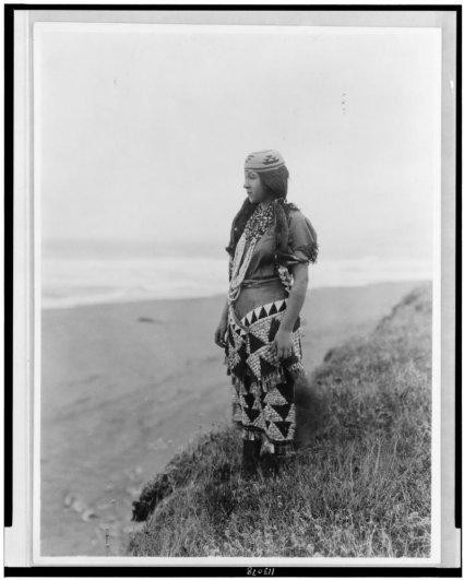 Эдвард Кертис, фотографирует индейцев. - №31