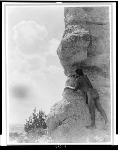 Эдвард Кертис, фотографирует индейцев. - №33