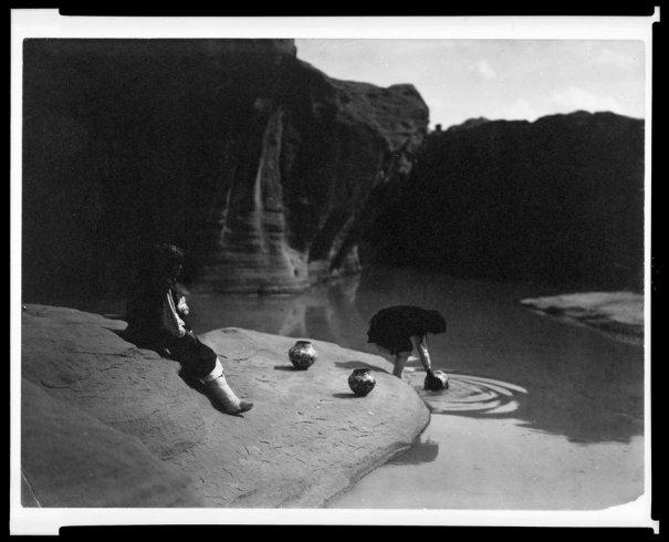 Эдвард Кертис, фотографирует индейцев. - №34