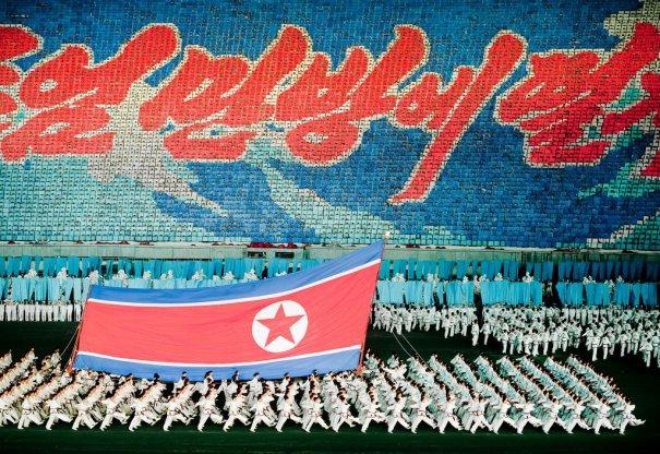 Новости в фотографиях - Танец 100 000 человек в Корее - №3