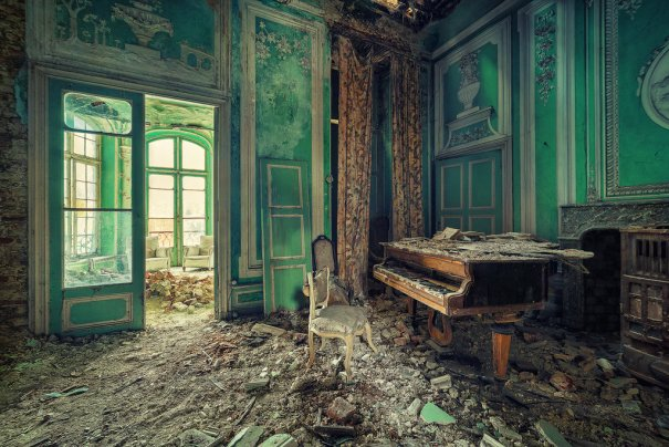 Заброшенный мир. Красивые фото от увлеченного фотографа - №13