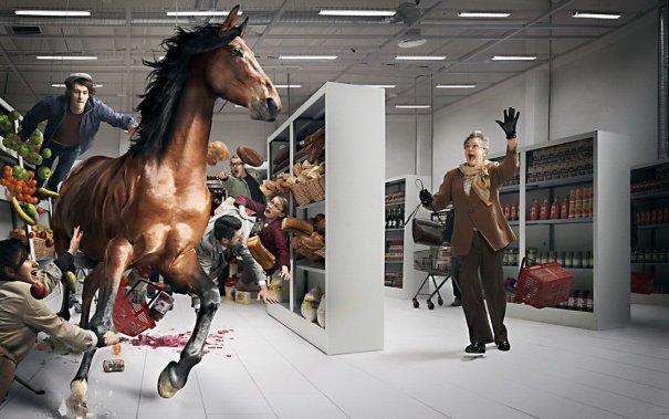 Абсурдные манипуляции в жанре фото юмора - №4
