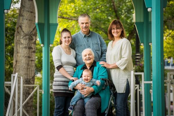 семейная портретная съемка 2